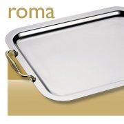 Tava cu maner aurit 40 cm ROMA