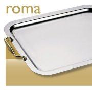 Tava cu maner aurit 35 cm ROMA