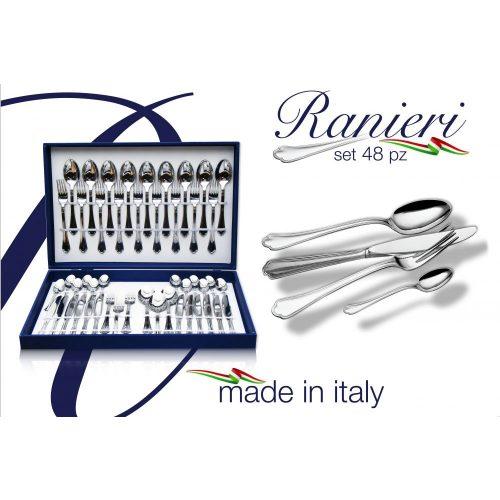 Ranieri set tacam, 48 piese, cutie foto