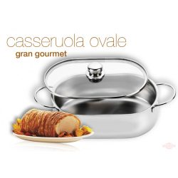 Vas oval Gran Gourmet 32 cm