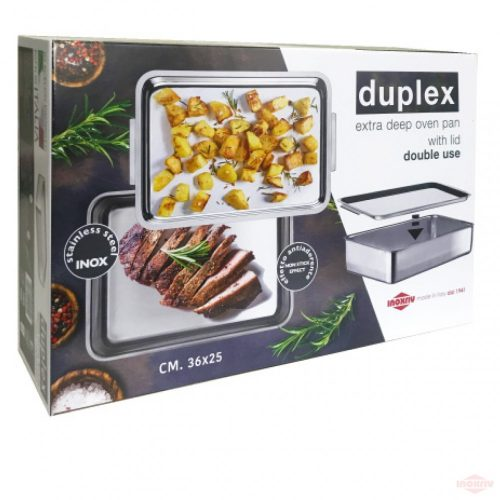 Duplex tava cuptor cu tava grill