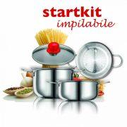 Eatitaly Startkit- set pentru gatit la aburi